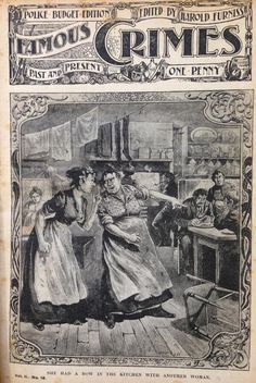 A cheap and sensationalist 'Penny Dreadful' from Victorian  London during the Ripper era.