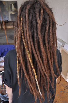 - - The most well known hair accessories pertaining to Dreadlock Rasta, Rasta Hair, Dreads Styles, Hair Styles, Short Dreads, Dread Accessories, Natural Dreads, Beautiful Dreadlocks, Dreads Girl