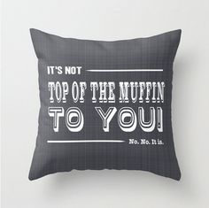 Seinfeld Pillow cover quote funny throw pillow by PennyandPaper, $35.00