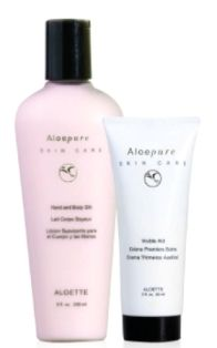 Summer skincare essentials from our AloePure collection are a must-have.  Hand and Body Silk has a classic scent that anyone will love, and Visible Aid will protect you from bug bites, sunburns and more