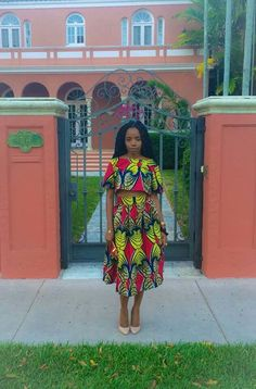 Ankara dress suit