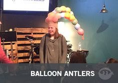 Balloon Antlers - Fun Ninja Youth Group Games