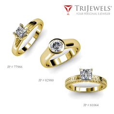 Go solo and symbolize betrothal for decades with solitaire engagement ring.