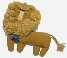 Marilyn Neuhart fabric lion