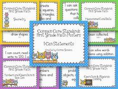 First Grade Common Core Owls-math Teaching First Grade, First Grade Classroom, First Grade Math, Teaching Math, Teaching Ideas, School Fun, School Stuff, School Ideas