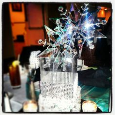 Winter wonderland center pieces- created by CC's