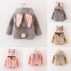 This little rabbit baby girl jumper is so so cute!