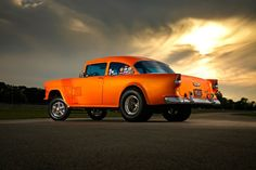 A 10-Second Street-Legal 1955 Chevy Gasser Is As Cool As It Gets