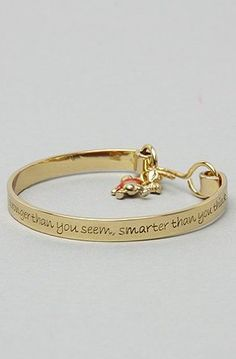 "Pooh is so wise.  ""You are braver than you believe, stronger than you seem, smarter than you think."""
