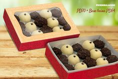 Embalagem para docinhos, doces, bolachinhas e mini bolos e fatias
