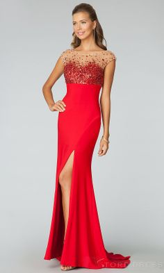 Luxury Trumpet / Mermaid Strapless Floor-length Embroidery Beading Evening Dress - Promgirlshop.com on Wanelo