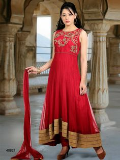 #Designer Salwar Kameez#Red #Indian Wear#Desi Fashion #Natasha Couture#Indian Ethnic Wear#Indian Suit
