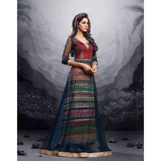 GRAB THIS STUNNING FLOOR LENGTH MAISHA LEHENGA DRESS ONLINE AT COMPLETE THE LOOKZ !  ORDER NOW -> http://www.completethelookz.co.uk/Red-with-Net-Blue-stunning-maisha-maskeen-addiction-designer-shalwar-suit?search=RED%20WITH%20NET   #COMPLETETHELOOKZ #HEER #PAKISTANI #BOLLYWOOD #SUITS #UK #LONDON #BRADFORD #TRENDY #STYLE #FASHION #SALWARKAMEEZ #DESICOUTURE #INDIANCOUTURE #ASIANCOUTURE #PAKISTANICOUTURE