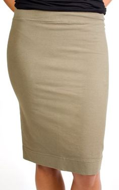 A3.1.11 -Edna - Gray or Khaki Skirt