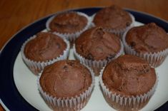 Low histamine diet - chocolate muffins