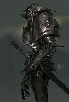 Demonio. Guerreiro. Monstro. Cavaleiro do purgatorio