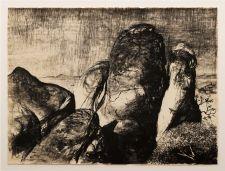 Lloyd Rees - sculptural approach to landscape
