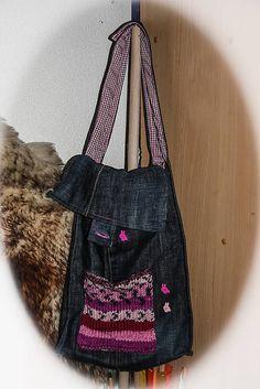 tina.chalupkova / taška z riflí