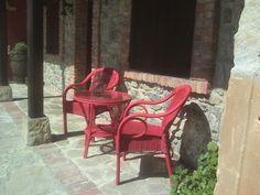 Area de descanso delante del Apta Arboleya.