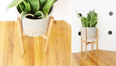 Wood Plant Stand Tutorial