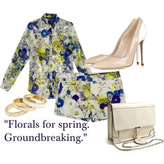 Florals For Spring. Groundbreaking.
