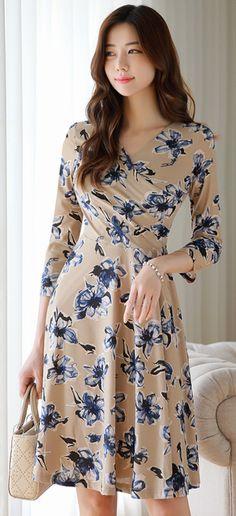 Best Casual Fashion Part 14 Trendy Dresses, Simple Dresses, Cute Dresses, Casual Dresses, Fashion Dresses, Party Dresses, Mature Women Fashion, Sweet Dress, Minimal Fashion