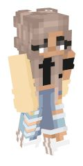 Minecraft Skins Female, Minecraft Outfits, Skins For Minecraft Pe, Minecraft Skins Aesthetic, How To Play Minecraft, Minecraft Stuff, Minecraft Ideas, Cute Baby Animals, Animals And Pets