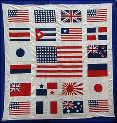 Flags quilt