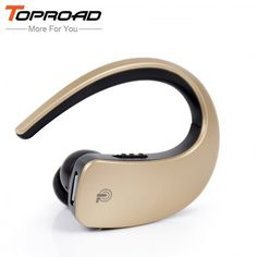 TOPROAD Mini Bluetooth Headset with Microphone  Price: 18.28 & FREE Shipping  #bluetooth|#tech|#electronics|#gadgets