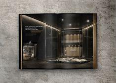 Luxury Real Estate Brochure Design Concept on Behance Luxury Master Bathrooms, Bathroom Design Luxury, Modern Bathroom Design, Small Bathrooms, Luxury Brochure, Brochure Design, Hotel Brochure, Brochure Ideas, Luxury Branding