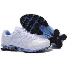 www.asneakers4u.com 407154 002 Nike Shox NZ 2.0 White Blue J04055 85b939e59