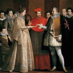 Wedding _Maria de Medici and Henry IV of france. 1600