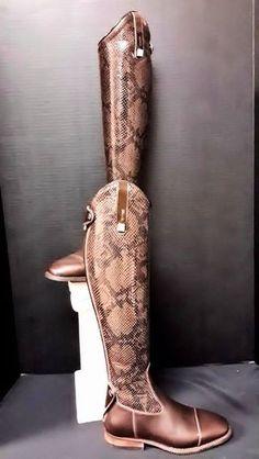 Cavallo boots, custom