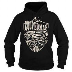 I Love Its a COOPERMAN Thing (Dragon) - Last Name, Surname T-Shirt T shirts