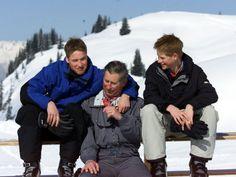 Prince William, Prince Harry, Prince Charles