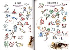 Illustrations with Ball Point Pens 2 Japanese Book by pomadour24