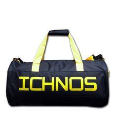 Ichnos Ripstop Sport Gym Duffel Active Bag Black Yellow – ICHNOS SPORTS