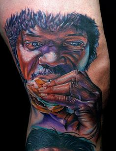 Pulp Fiction Tattoo by Cecil Porter