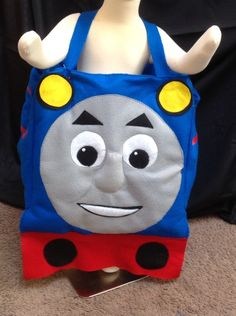 Thomas the Train Costume by LollipopLucyCostumes on Etsy https://www.etsy.com/listing/229352953/thomas-the-train-costume