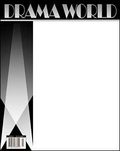 Create Magazine Cover Template | magazine covers … | Pinteres…