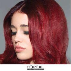 #red #hair #trend #lorealprofessionnel #inoa