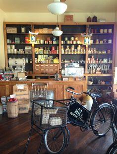 Ferrymead Heritage Park General Store, Liquor Cabinet, Park, Storage, Places, Furniture, Home Decor, Purse Storage, Lugares
