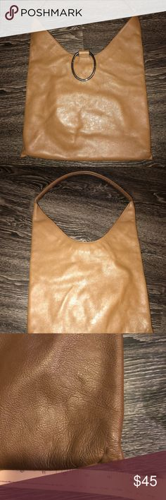 Leather handbag Leather lupo handbag. Great condition. Measurements shown in pic lupo Bags Shoulder Bags
