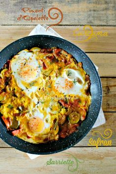 Vegetable recipe - Pan-fried turmeric vegetables and organic eggs - Nourrituure - Vegetable Recipes, Vegetarian Recipes, Cooking Recipes, Healthy Recipes, Cooking Ideas, Healthy Dinners For Two, Slow Food, Food Photo, My Favorite Food