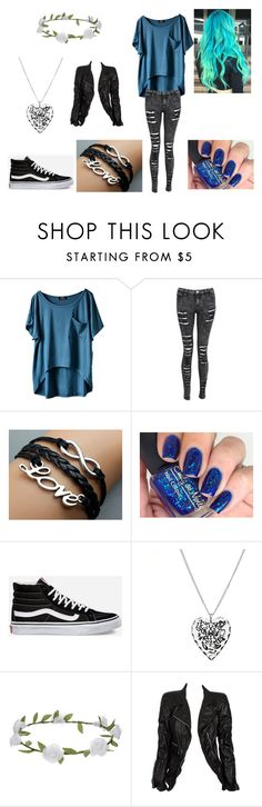 """""""New to the institute"""" by nightgirl250 on Polyvore featuring Vans, Accessorize, Marc Jacobs, MortalInstruments, shadowhunters, myOC and nightgirl250"""
