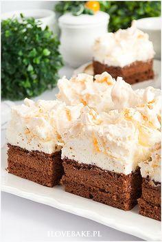 Polish Recipes, Vanilla Cake, Cheesecake, Food And Drink, Sweets, Baking, Kitchens, Gummi Candy, Polish Food Recipes