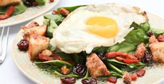 Healthy Breakfast Salad Recipes http://greatist.com/eat/healthy-breakfast-salad-recipes