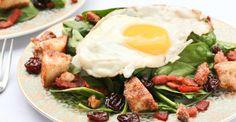 Healthy Breakfast Salad Recipes http://greatist.com/eat/healthy-breakfast-salad-recipes