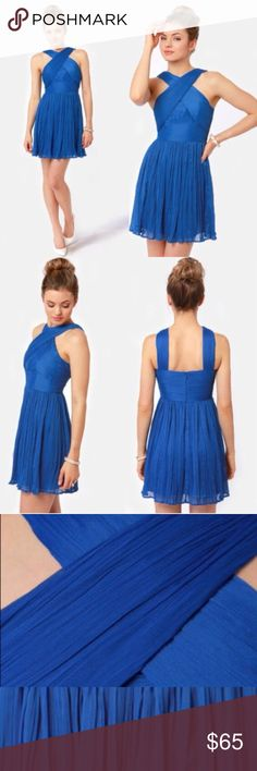cc1e1445a164e6 BB Dakota Kier Crinkled Chiffon Dress The jury has spoken  the