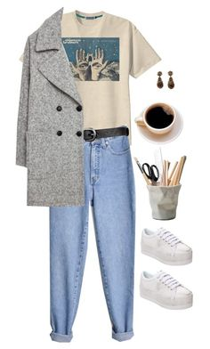 """""""Weird french girl"""" by artangels ❤ liked on Polyvore featuring art"""
